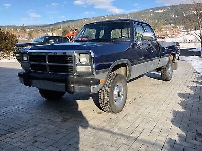 Dodge: Ram 2500 MINT 1992 dodge w250 cummins
