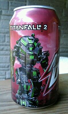 1 Full ~ MTN DEW ~ GAME FUEL Citrus Cherry ~ Titanfall 2 (id: a) Mountain Dew