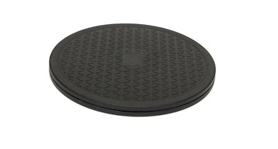 10 Inch Black Rotating Swivel Turntable Plate Lazy Susan Home Kitchen Food Tool
