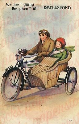 """c.1930's """"WE'RE GOING THE PACE AT DAYLESFORD"""" VINTAGE VIC ADVERTISEMENT A3 PRINT"""