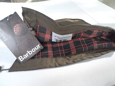 Barbour- A901 Special Moorland Waxed Cotton Hood-Rare-New Old Stock-Made @ Uk