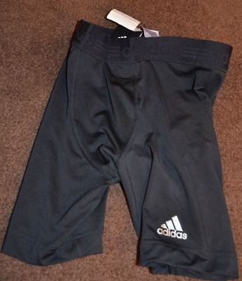 adidas techfit tight compression shorts black nwt climalite new with tag