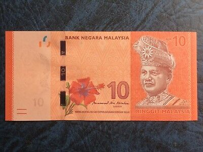 🔥🔥🔥 Malaysia RM 10 Ringgit Banknote 2018 New Governor Sign UNC