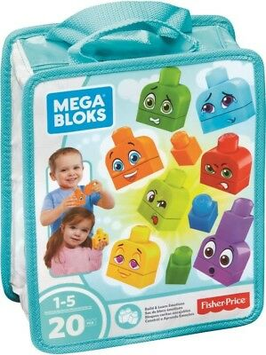 NEW Mega Bloks Build & Learn Emotions from Mr Toys