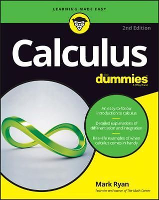 Calculus for Dummies, 2nd Edition by Mark Ryan PDF Read on PC/SmartPhone/Tablet