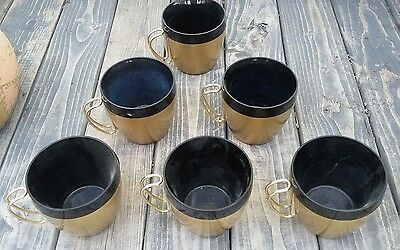 Vintage NFC Thermal Coffee Mugs Set of 6