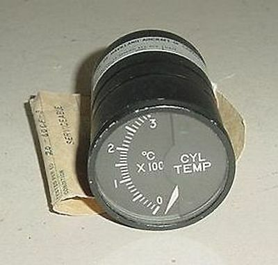 147R32B, Aircraft Cylinder Temperature Indicator with Serviceable tag