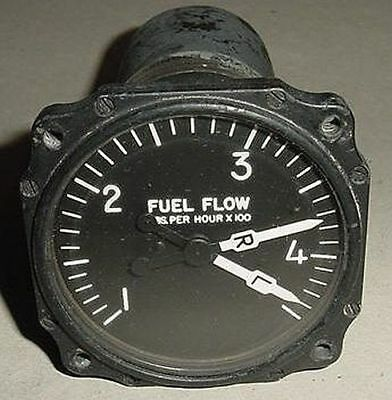 26-66004-1, Swearingen Aircraft Fuel Flow Indicator