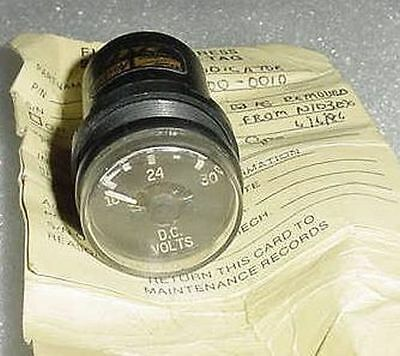 B3300-0010, B33000010, Aircraft D.C. Volts Indicator with Serviceable tag