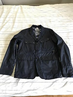 Barbour x White Mountaineering Lapel Jacket Waterproof Wax Cotton size M
