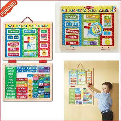 My First Daily Magnetic Calendar Melissa And Doug Kids Fun Learning