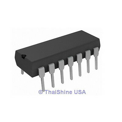 5 x CD4081 4081 CMOS AND GATE Quad 2 Input IC - USA SELLER - Free Shipping