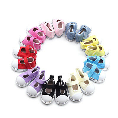5cm Doll Shoes Canvas Mini Toy Shoes1/6 Bjd For Russian Tilda Doll Sneackers HU