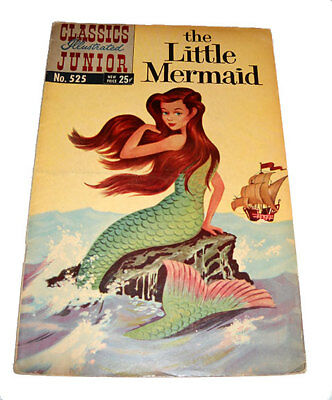 Classics Illustrated Junior The Little Mermaid No 525 HRN 547