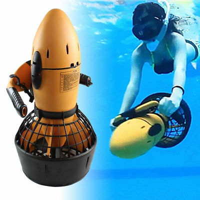 AU! Underwater Scooter Diving Dive Electric Freediving Snorkle Aid Fins Water AU