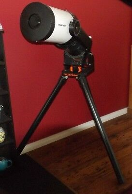 Celestron Celestar 8 Tracking Capable Telecope with 200mm Lens.