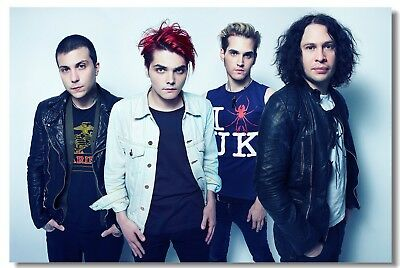 Poster My Chemical Romance Music Band Group Wall Club Room Cloth Print 209