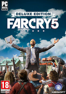 Far Cry 5 - Deluxe Edition- PC Global Play-Not Key/Code - Pre-order