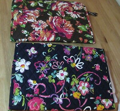 VERA Bradley RIBBONS or CANYON Travel JEWELRY FOLIO Book Organizer
