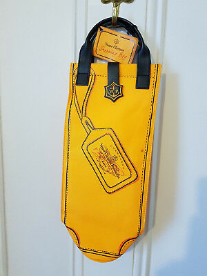VCP Veuve Clicquot Ponsardin Brut Champagne Yellow Label Collectors Shopping Bag