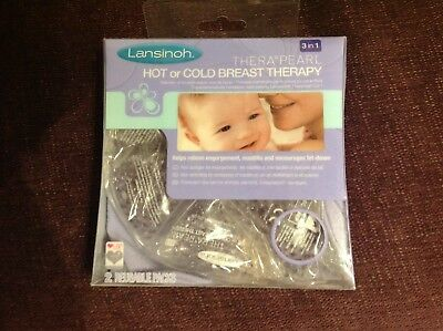 Lansinoh Therapearl hot or cold breast therapy pack - brand new