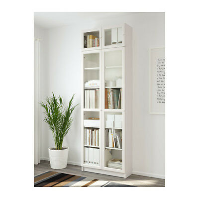 Ikea billy libreria bianco eur 65 30 picclick it for Librerie angolari ikea