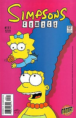 Simpsons Comics 111 Bongo 2005 Know It All In The Family  Boothby Costanza Novin