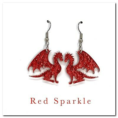 Dragon Earrings,Dangle,Drop,Womens Fashion,Hanging,Jewellery,Gifts