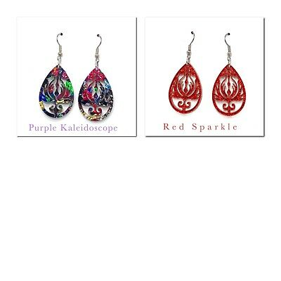 Drop Pattern Earrings,Dangle,Drop,Womens Fashion,Hanging,Jewellery,Gifts