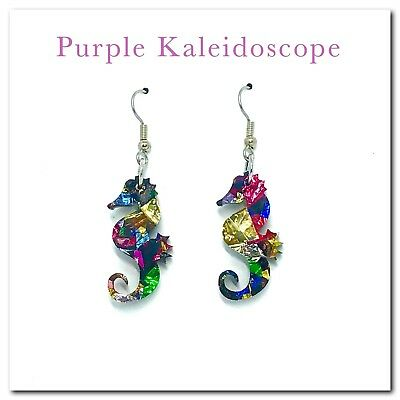 Seahorse Earrings,Dangle,Drop,Womens Fashion,Hanging,Jewellery,Gifts