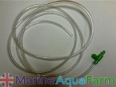 AQUARIUM ACCLIMATISATION DRIP LINE 1.5m WITH TAP, MARINE TROPICAL REEF CORAL