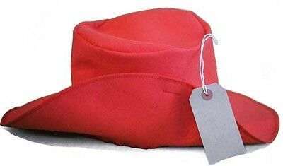 Paddington Bear-World Book Day-Animal-Film-CLASSIC RED HAT & LUGGAGE LABEL SET