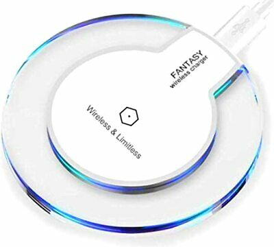 Samsung iPhone Wireless Qi Cellphone Charger Cordless Charging Pad Universal