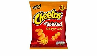 Cheetos Twisted Flamin Hot Flavour (65g x 15)
