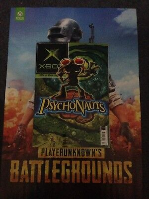 Xbox Official Magazine #160 February 2018 + Battlegrounds/Dragon Ball poster