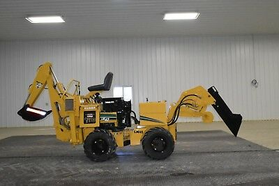 2000 Vermeer LM42 Ditch Witch 410SX Vibratory Plow Backhdoe 255SX