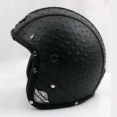 New Arrival Vintage Motorcycle Scooter Open Face Unisex Helmet Safety Protector