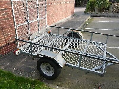 Quad direct trailer ideal for motorcycle, quad bike, large lawn mower etc
