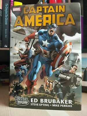 Entire Brubaker Captain America run in hardcover marvel comics 18 books