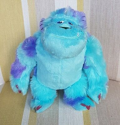 """Sully from Monsters University Inc soft toy TALKING  Disney/Pixar 8"""" new"""