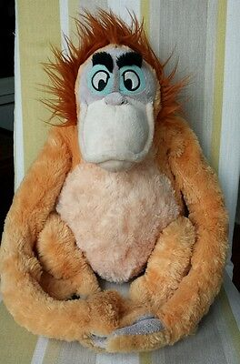 Jungle Book Soft Toy by Disney Store King Louie 18""
