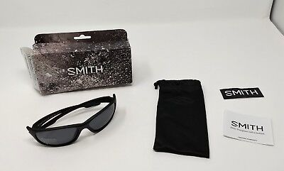 Smith Optics Mens Chamber Tactical Sunglasses Black Frame Gray Lens