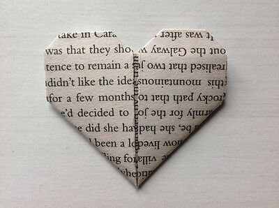 200 x Origami hearts. Wedding favour. 1st wedding paper anniversary. Table decor