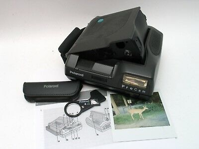 Polaroid PROCAM Wide Angle Instant Camera Spectra Image Impossible Film TESTED