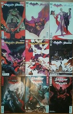 Batman/The Shadow #1-6 & The Shadow/Batman #1-3 DC/DYNAMITE Comic's