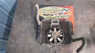 1990 - 2009 Kawasaki EX500-D10 Ninja 500R Radiator With Fan