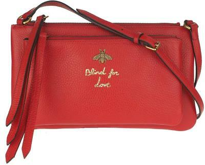 351c435903f931 New Gucci Current Red Leather