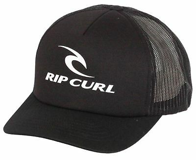 RIP CURL CURVE Trucker Cap ~ RC Original black - £20.00  e6479fb52ebf