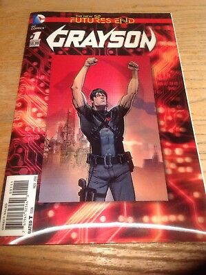 dc comics The New 52 Futures End Nightwing's Grayson One Shot 3D Cover