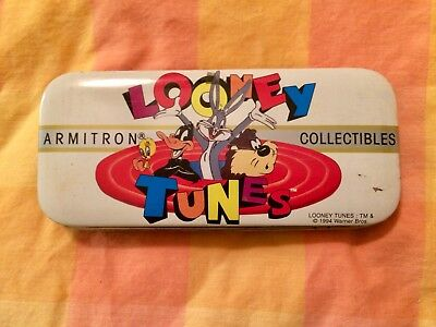 "Armitron Looney Tunes Watch Rare ""THE WHOLE GANG"" 2200/37 1992 - Needs Battery"